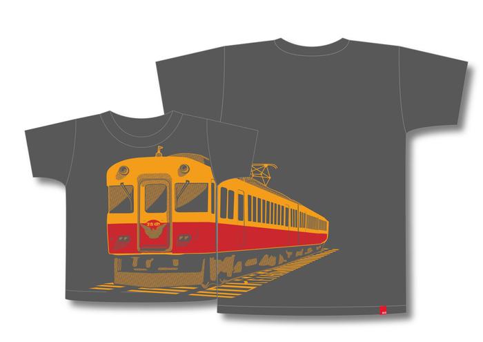 京阪旧3000系特急車×OJICOコラボレーションTシャツ2021